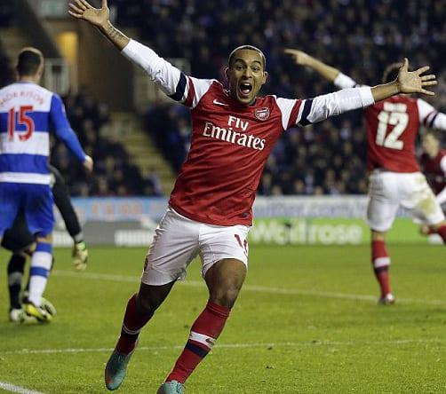 Reading-Arsenal In Thrilling Gubbing