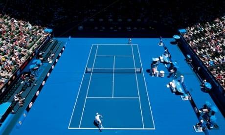 courtsiding australian open