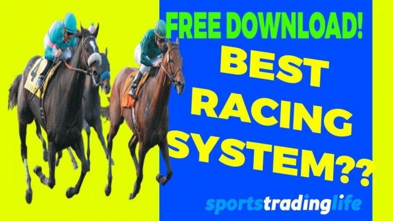 Best Horse Racing Strategy? Lay The Field – [FULL VIDEO]