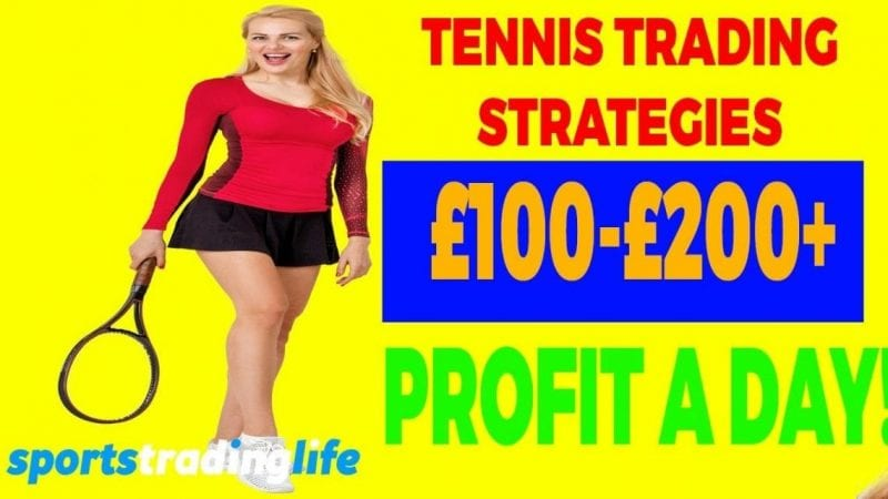 What Are The BEST Tennis Trading Strategies?