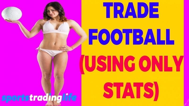 How To Trade Football Using ONLY Stats! [VIDEO]